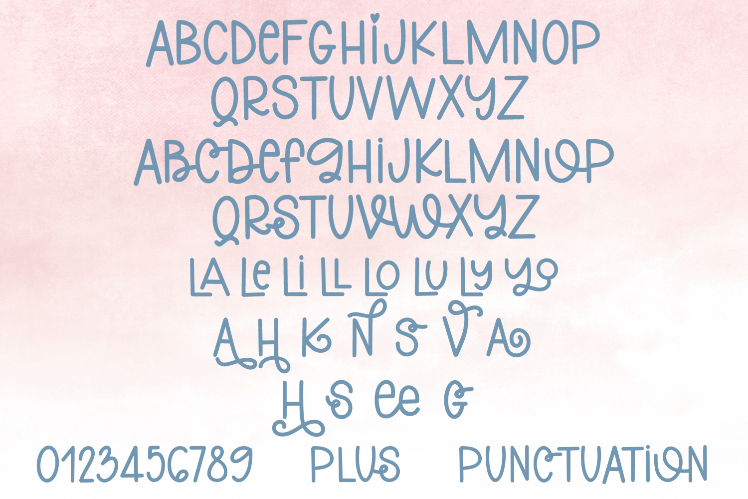 Dreaming Of Sunshine - A Cute Handlettered Font example image 5