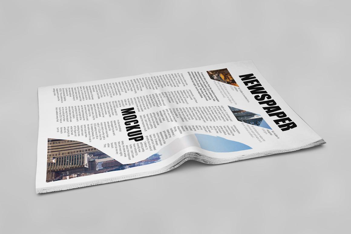 Newspaper Mockup example image 9