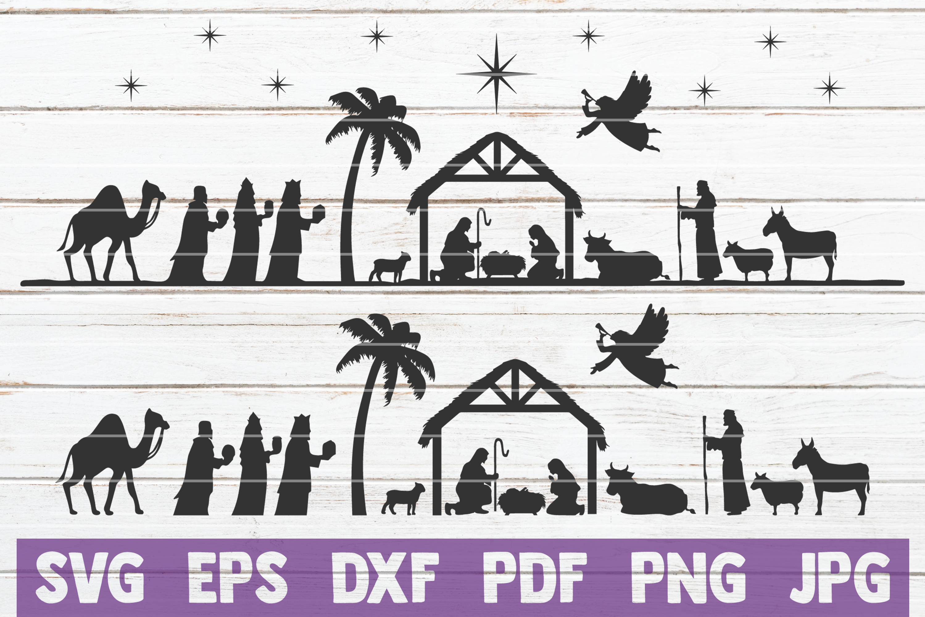 Nativity SVG Cut Files example image 1