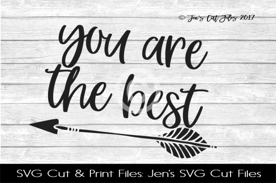 You Are The Best SVG Cut File example image 1