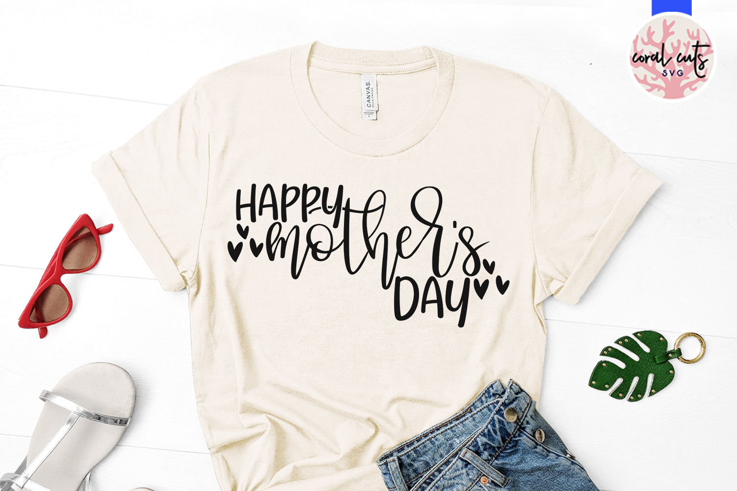 Happy mother's day - Mother SVG EPS DXF PNG Cut File example image 2