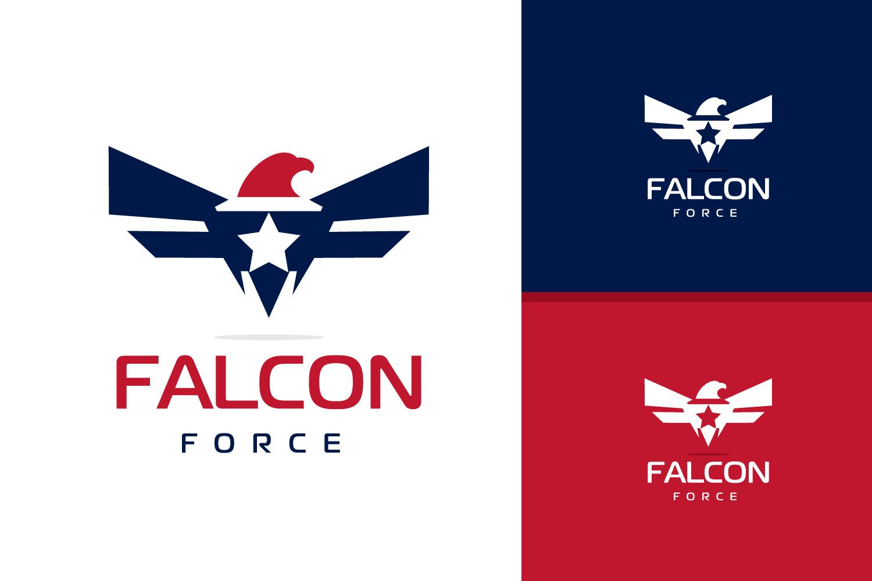 Falcon, Eagle logo design example image 1