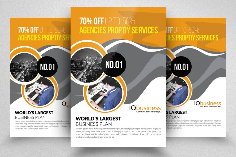 10 Multi use Business Corporate Flyer Bundle 10 example image 8
