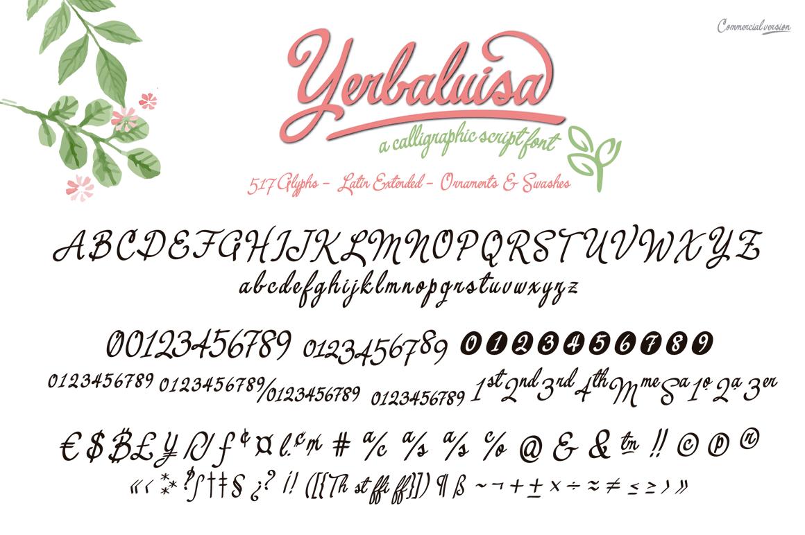 Yerbaluisa example image 3