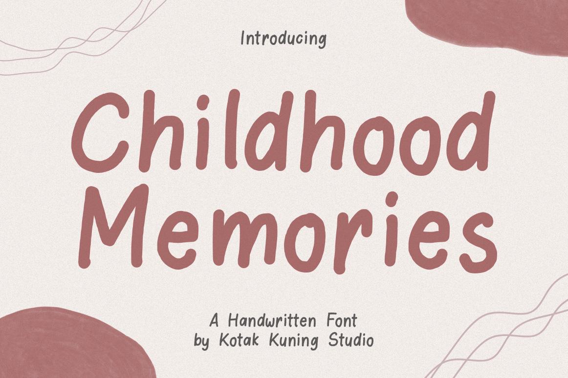 Childhood Memories example image 1