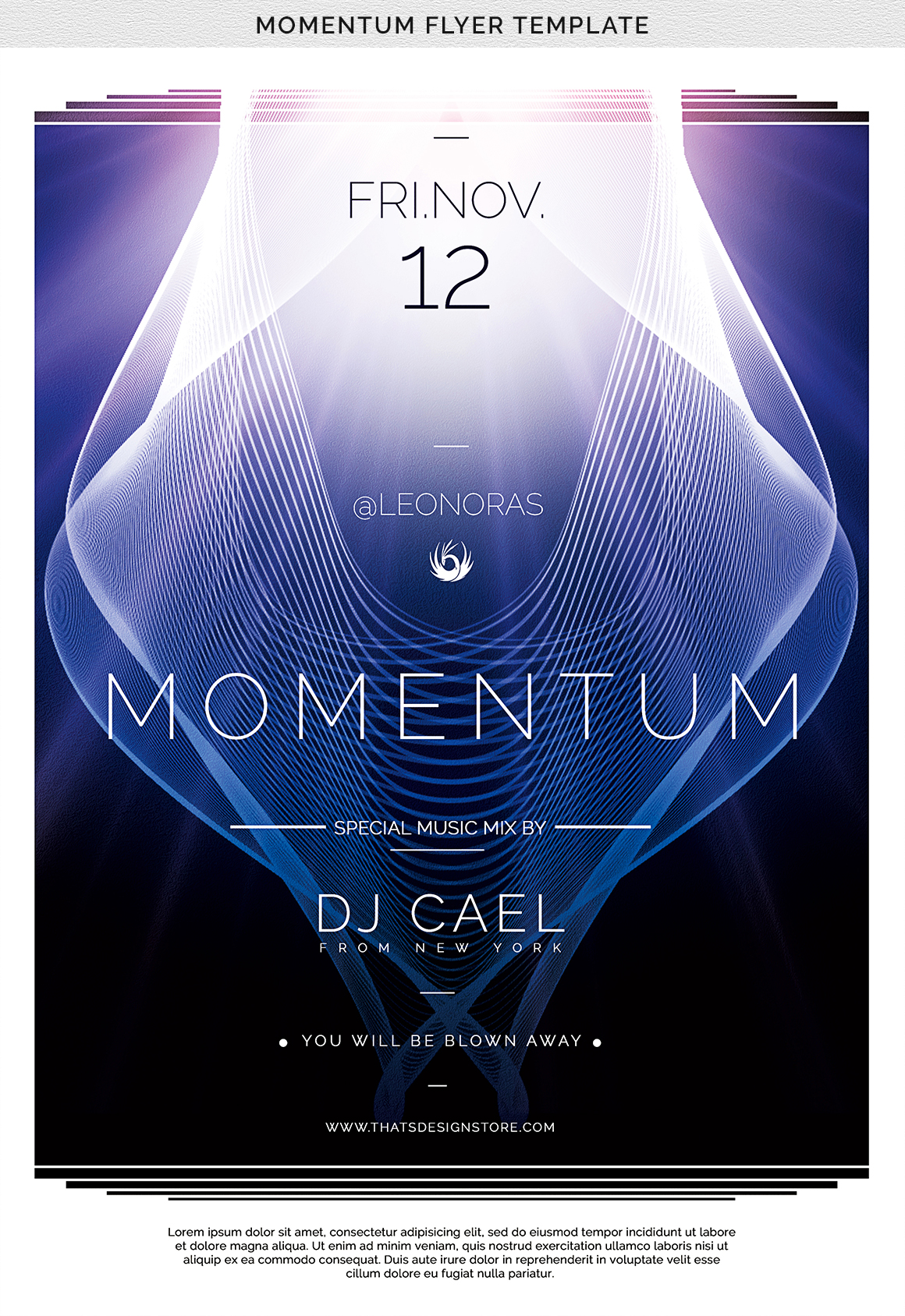 Momentum Flyer Template example image 7