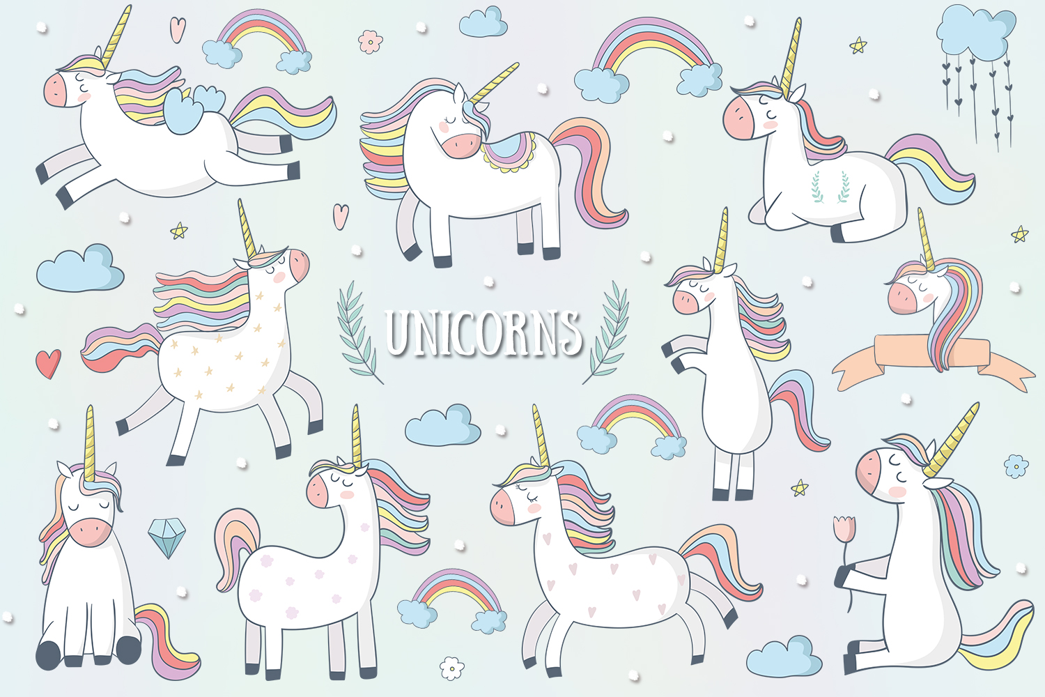Unicorns example image 1