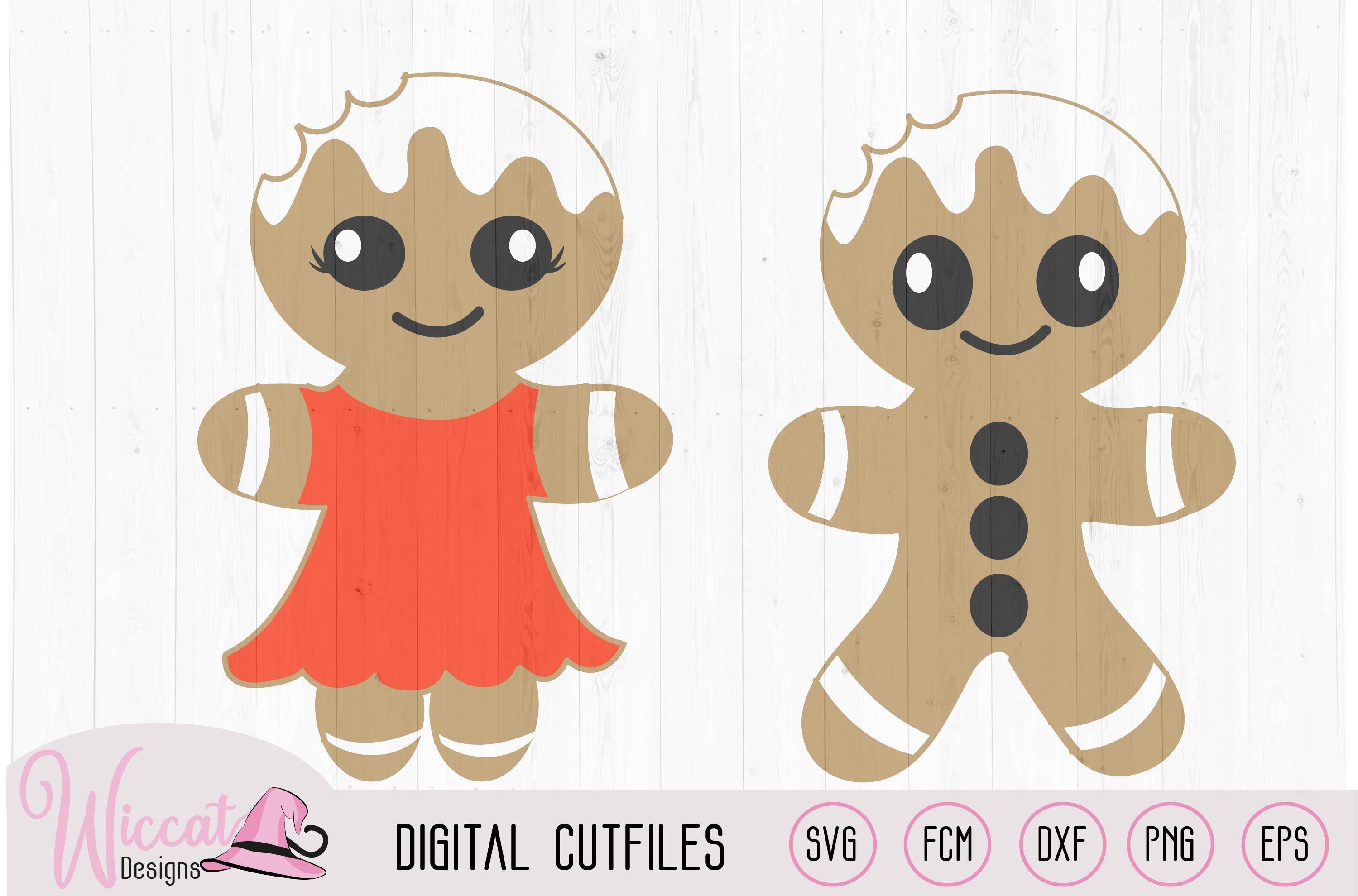 Gingerbread Man bundle, home decoration, example image 3