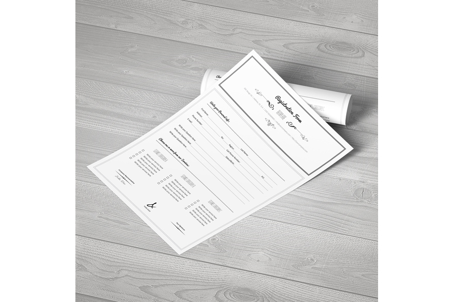 Registration Form Template v3 example image 5