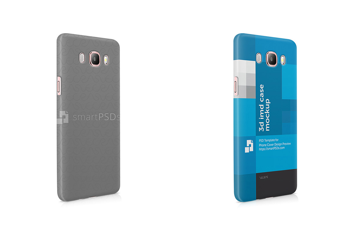 Samsung Galaxy J7 2016 3d IMD Mobile Case Design Mockup 2016 example image 1