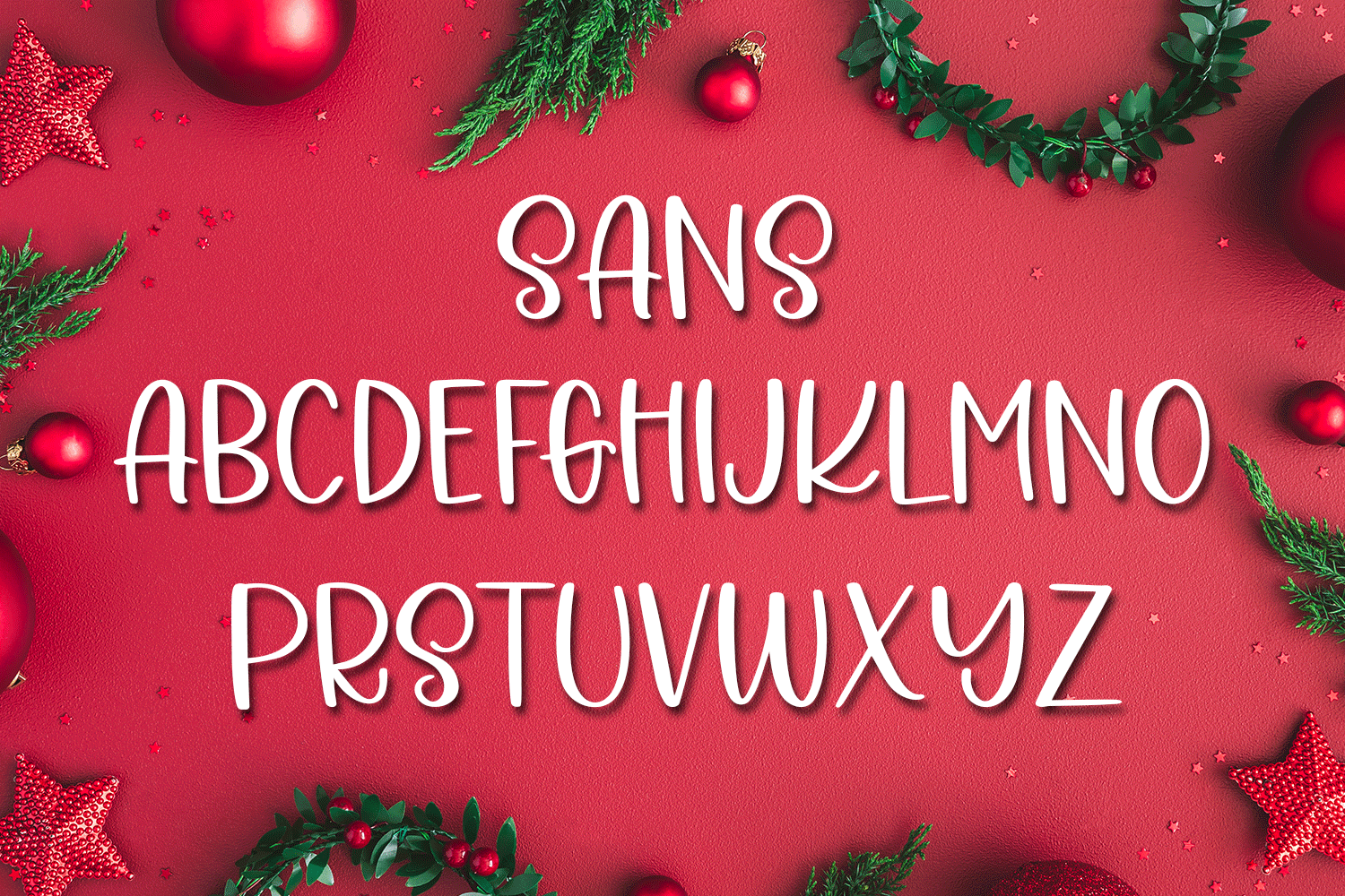 A Holiday Story - A Christmas Hand-Written Font Trio example image 9