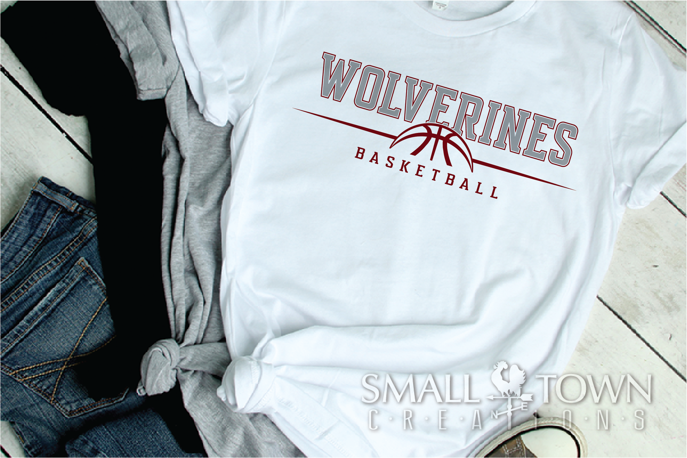 Wolverine, Basketball, Sport, Design, PRINT, CUT, DESIGN example image 2