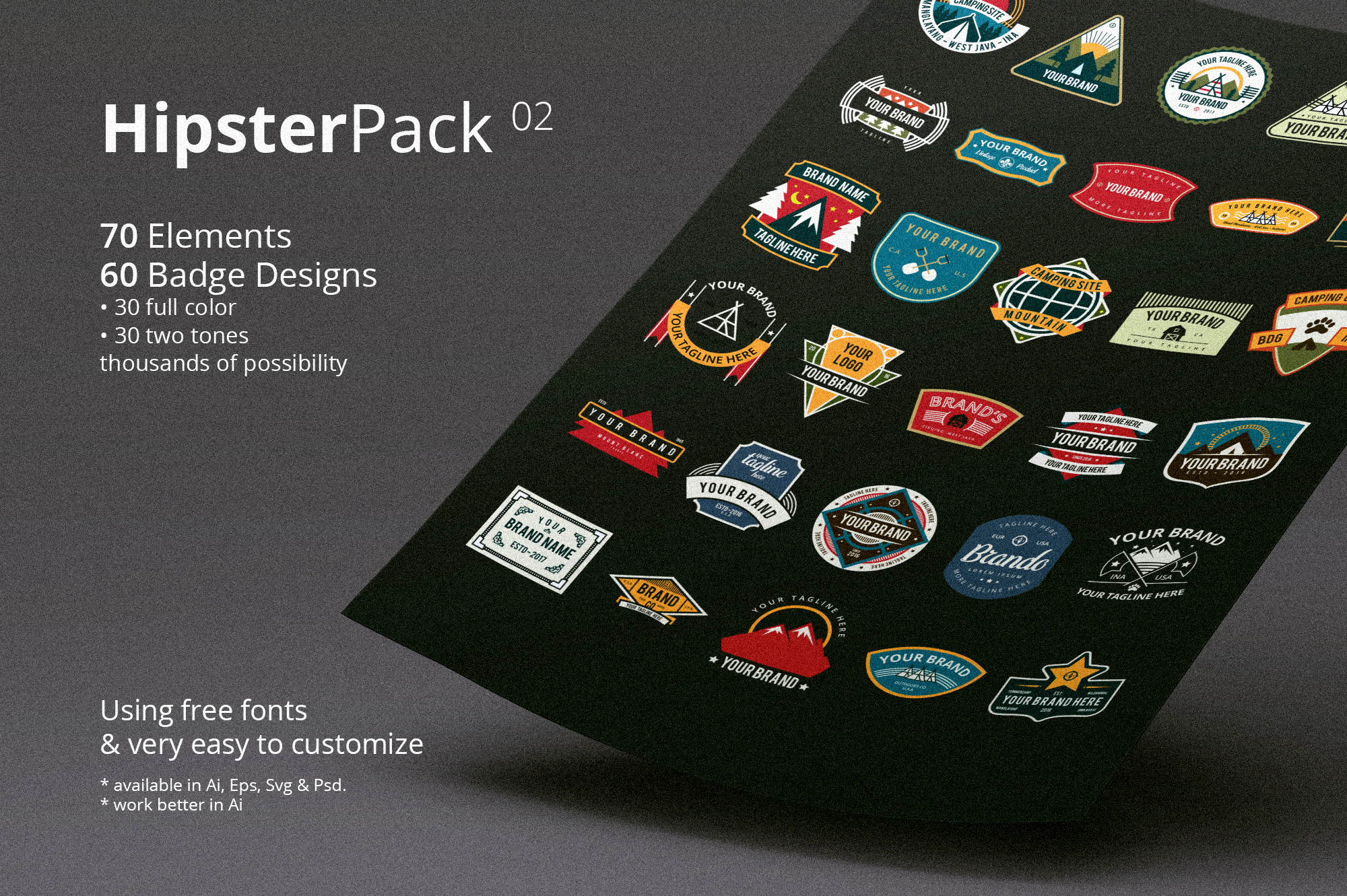 Hipster Pack 02 example image 1