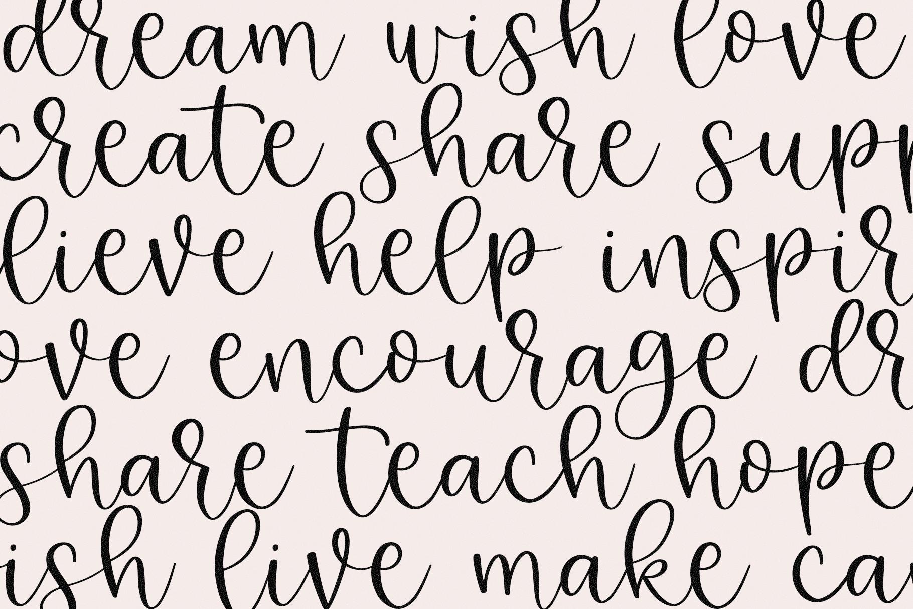 Kindheart - A Handwritten Script Font example image 8
