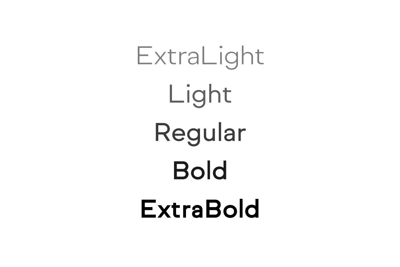 NORMAL - Minimal Typeface & WebFonts example image 10