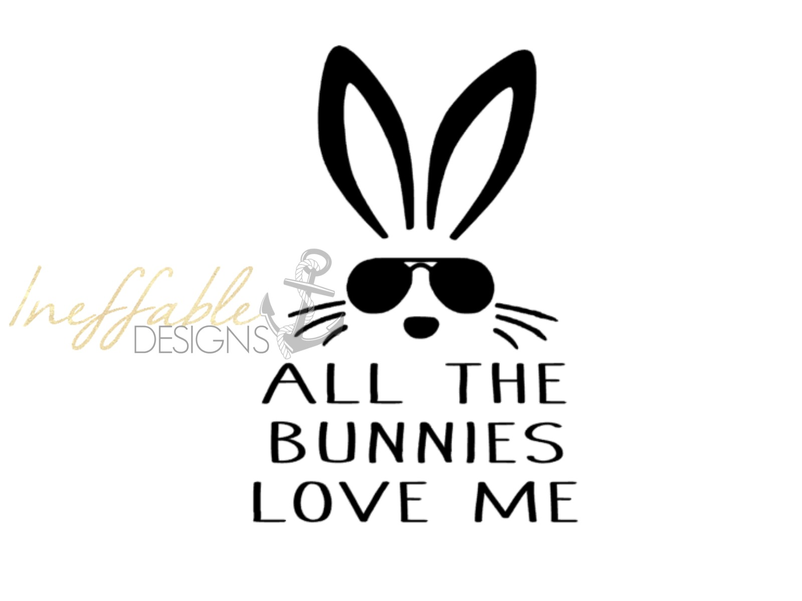 Download All the bunnies love me design file