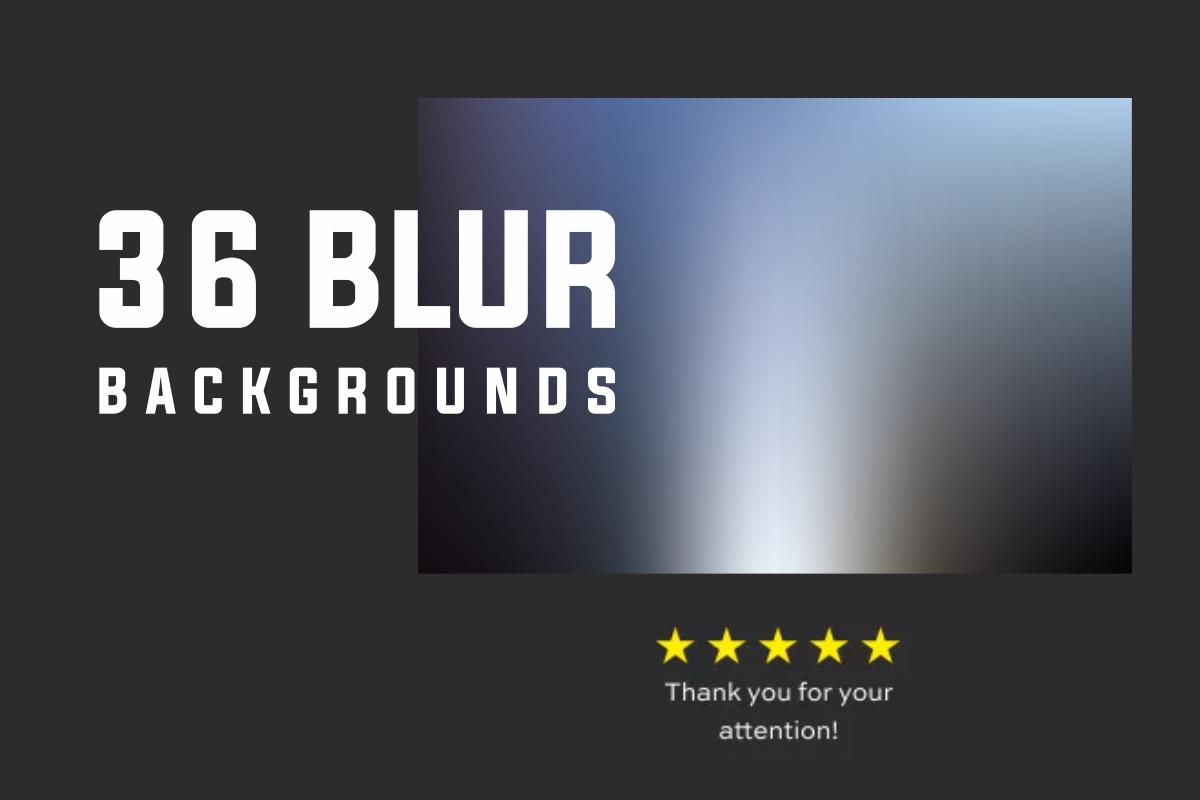 Premium Blur Backgrounds bundle example image 1