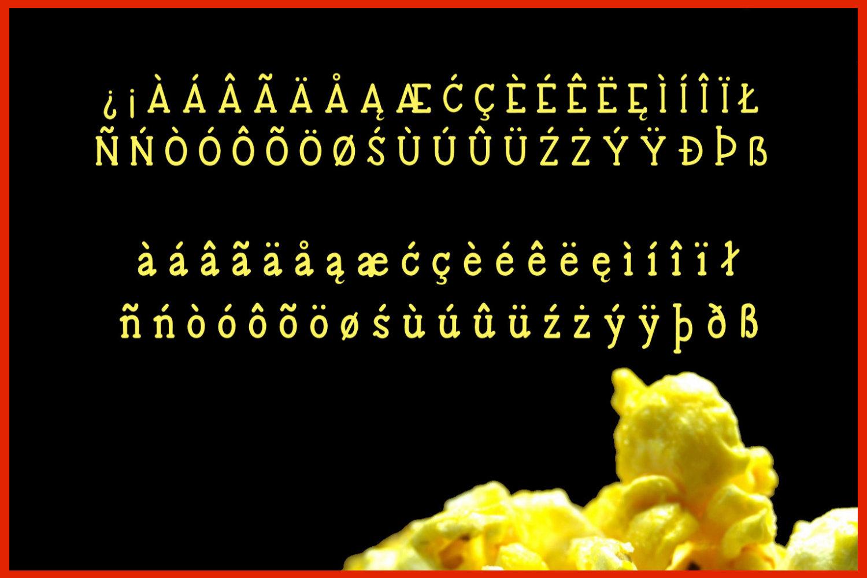 Buttered Popcorn - A handwritten serif font example image 3
