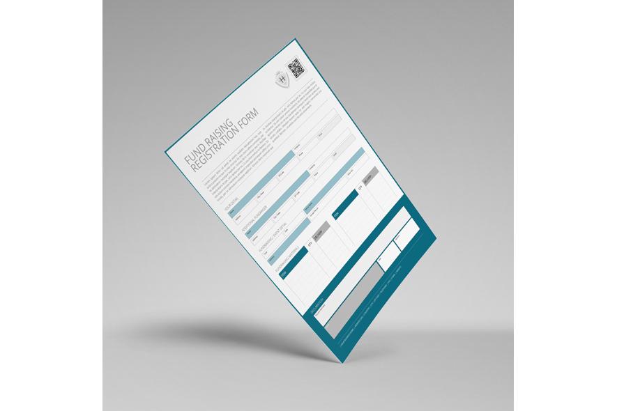 Fund Raising Registration US Letter Form example image 5