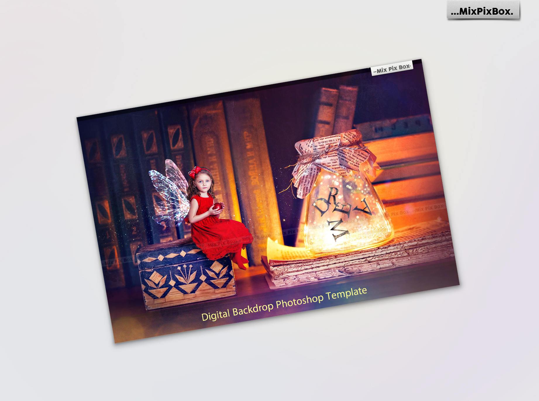 Fairy Backdrops Bundle example image 5