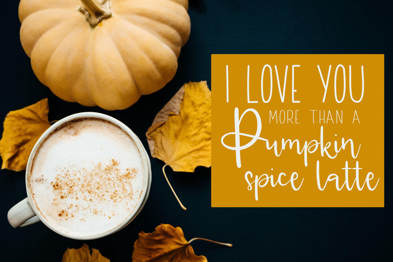 Pumpkin Pie Lattes example image 2