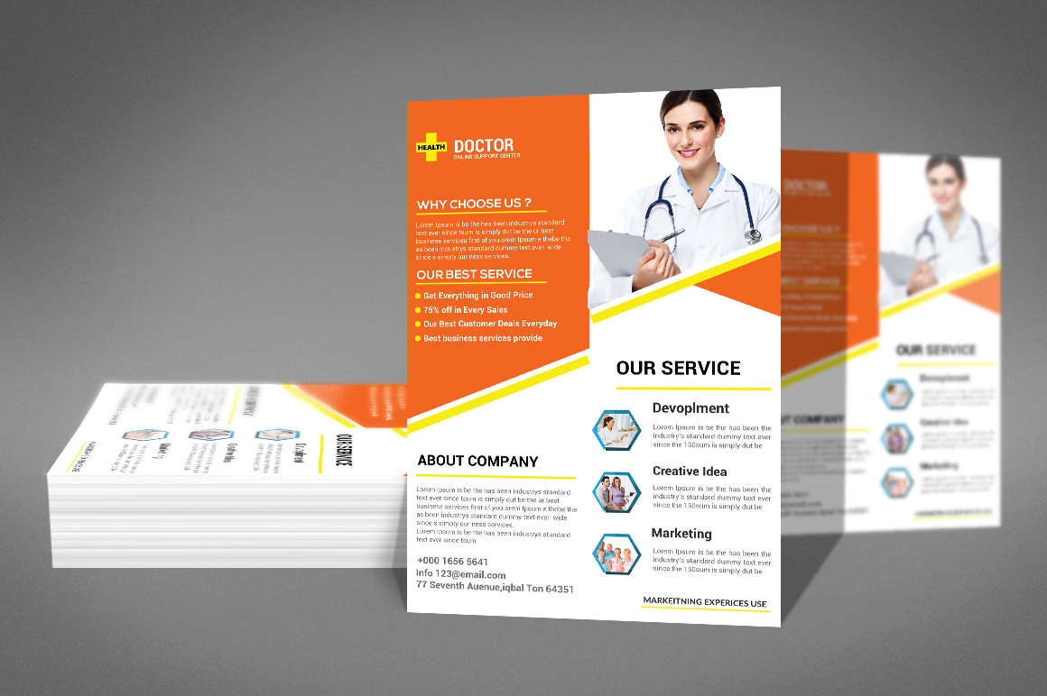 Doctor Flyer example image 2