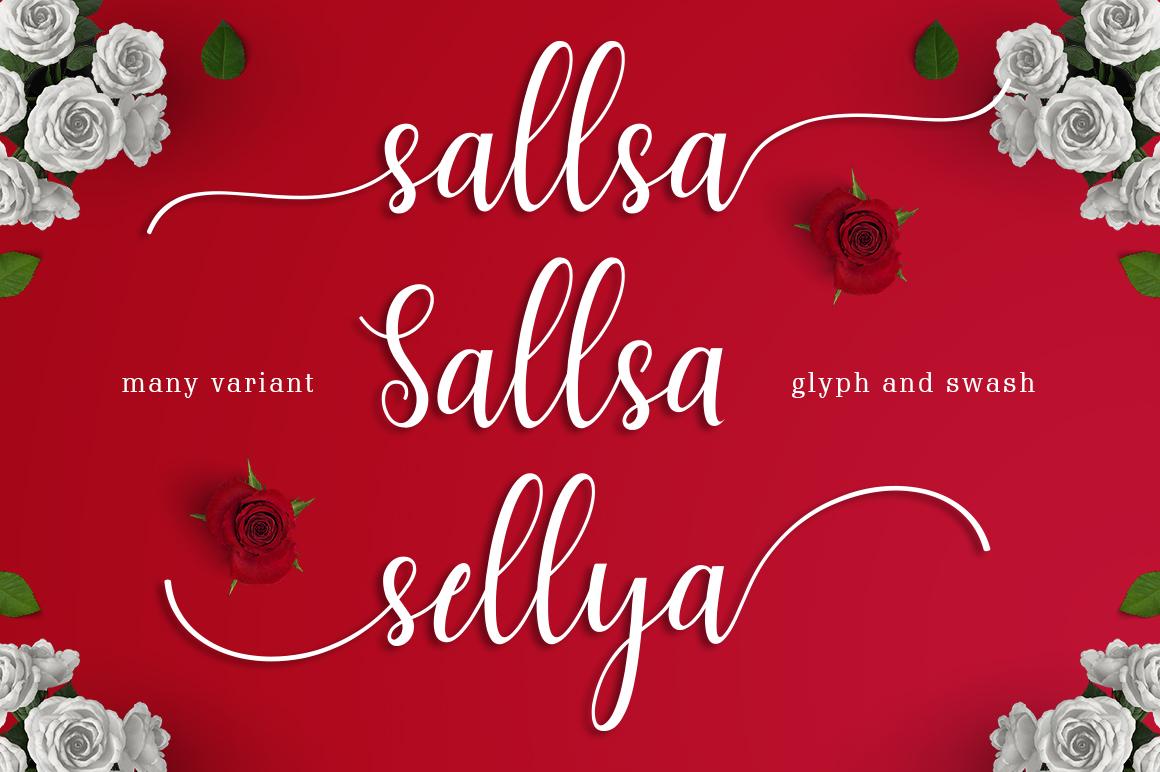 Sallsa Script example image 2