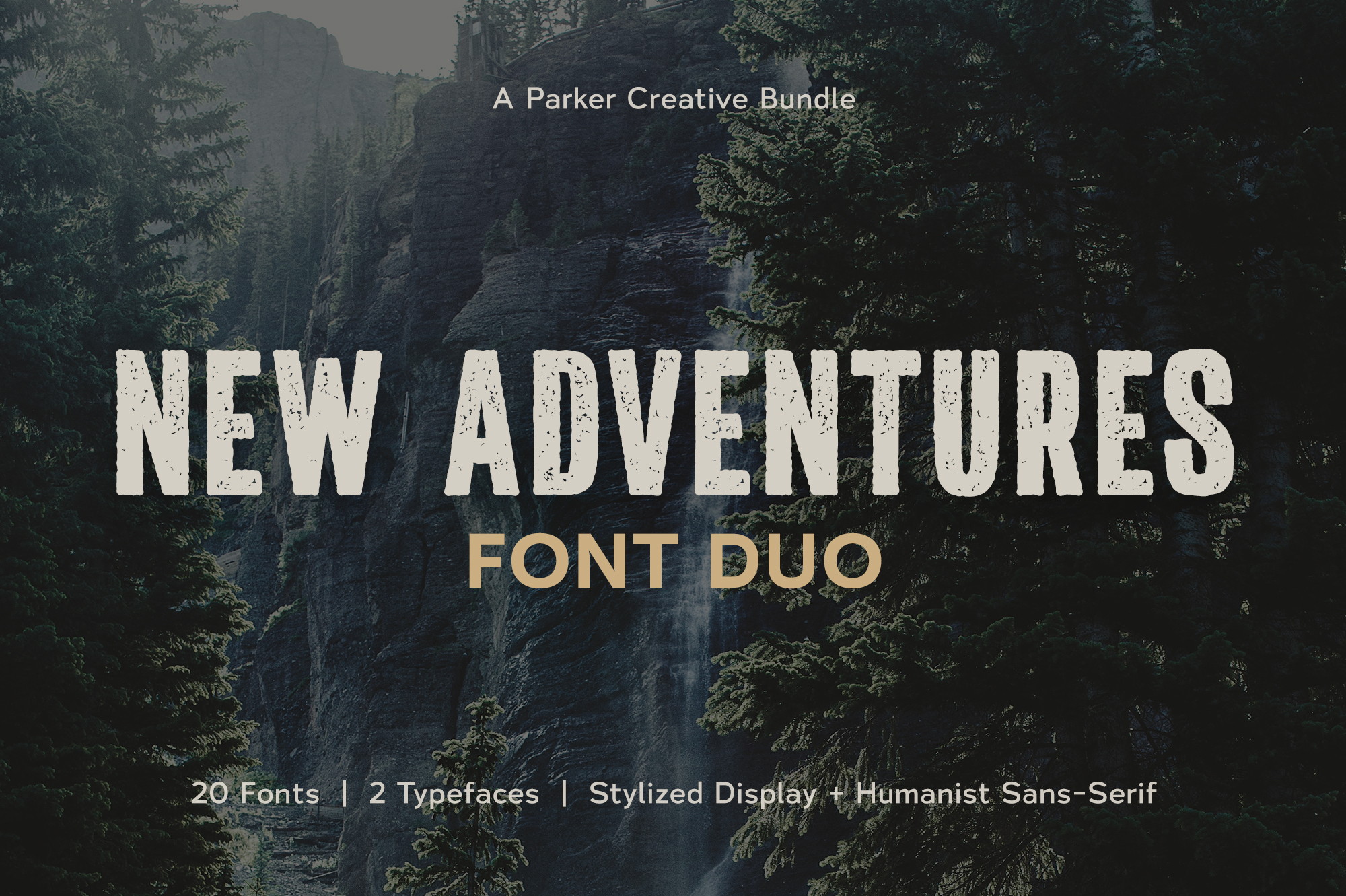 New Adventures | Font Duo by Parker Creative example image 1