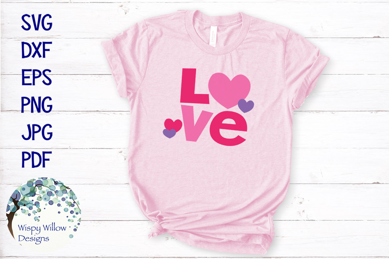 Love | Valentine's Day SVG example image 1
