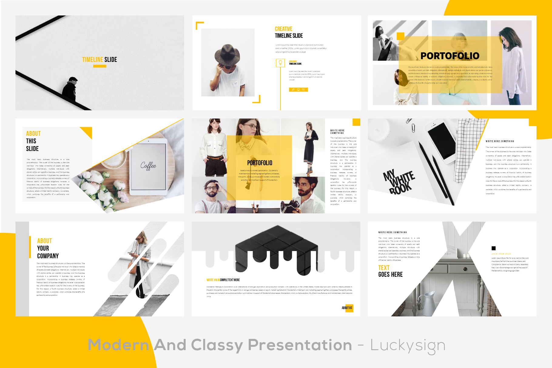 Yourbae Powerpoint Template example image 2