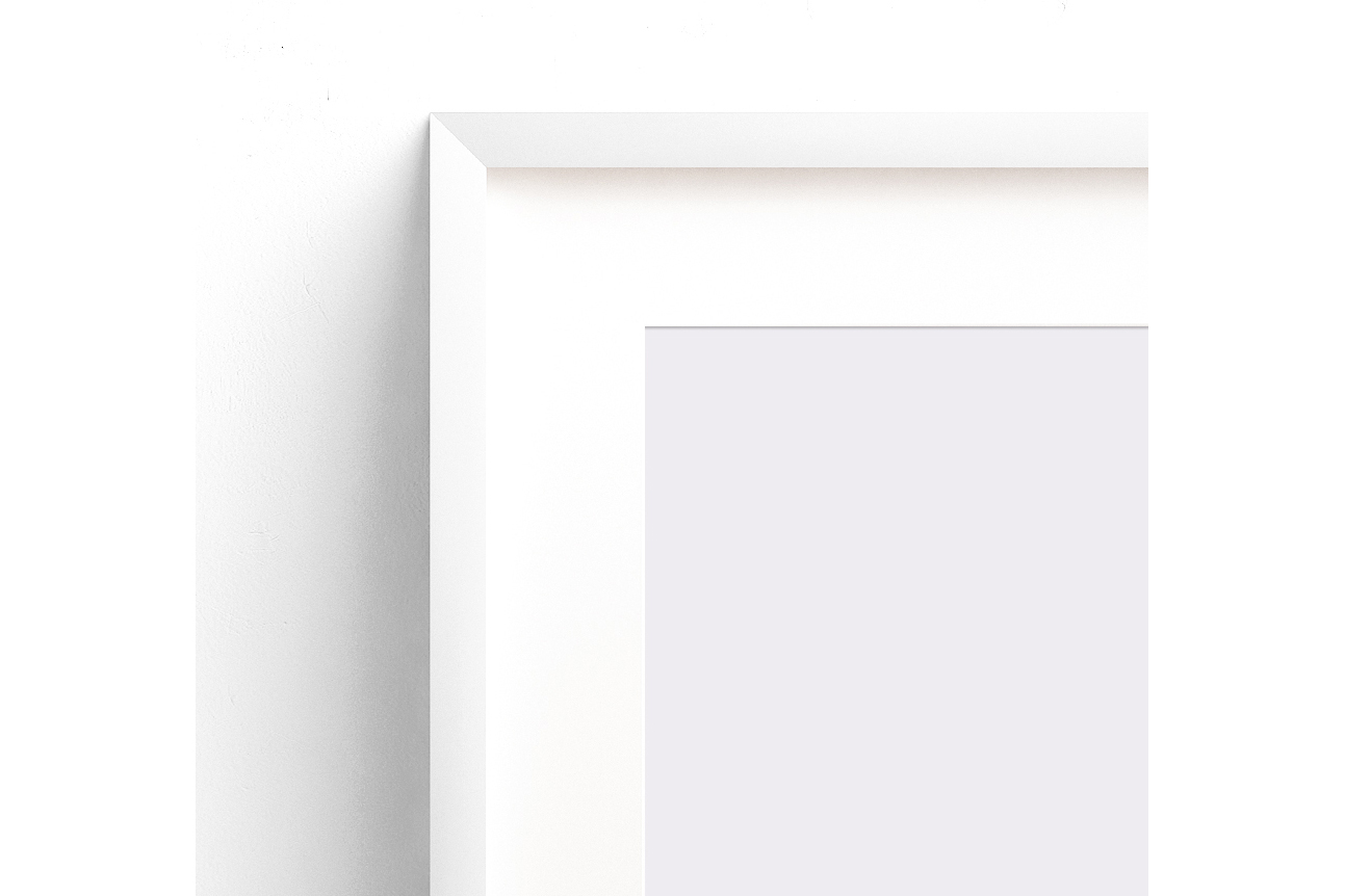 Styled Stock Photography, Frame Mockup set, vertical&Horizontal white frames example image 2