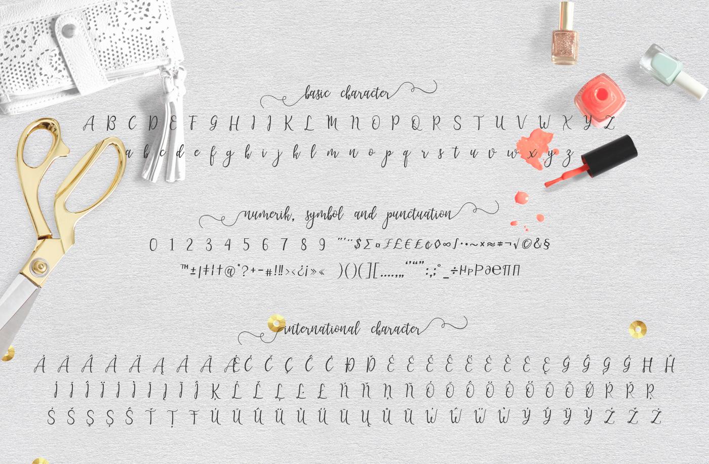 Lanara Script example image 5
