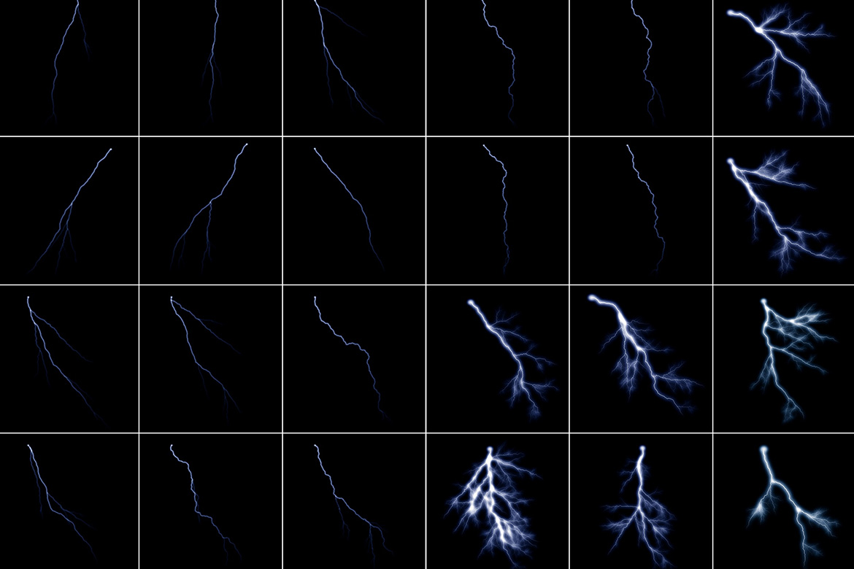 100 Lightning Overlays Vol. 1 example image 6