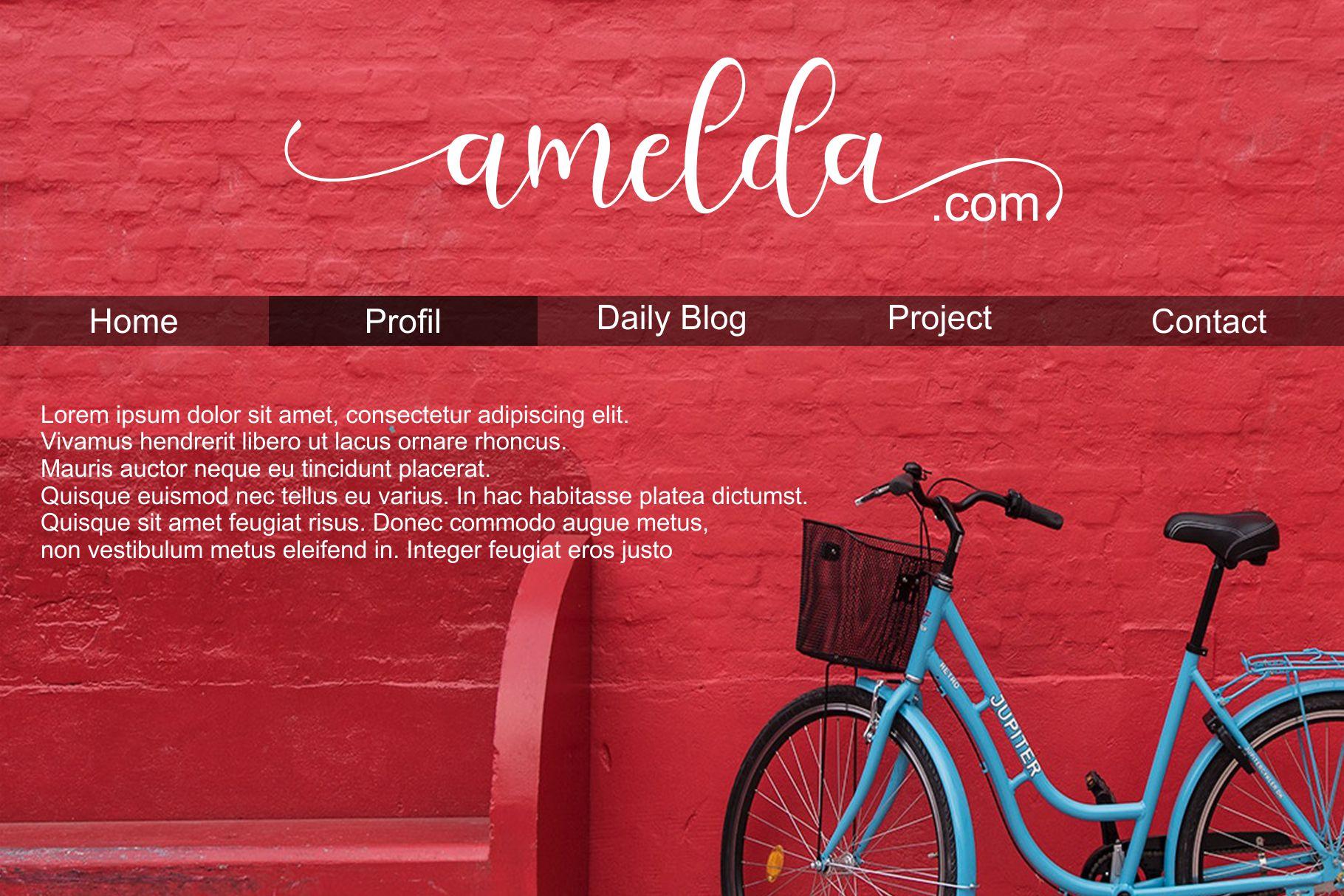 Sheyla Modern Script example image 6