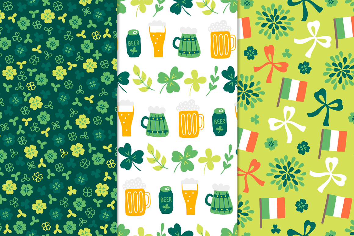 12 St. Patrick's Day Patterns example image 2