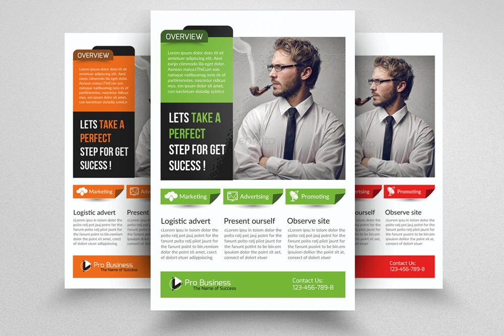 6 Multi Use Business Flyers Bundles example image 3