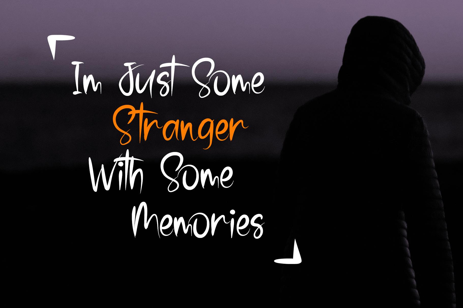 Stranger - Brush Font example image 3