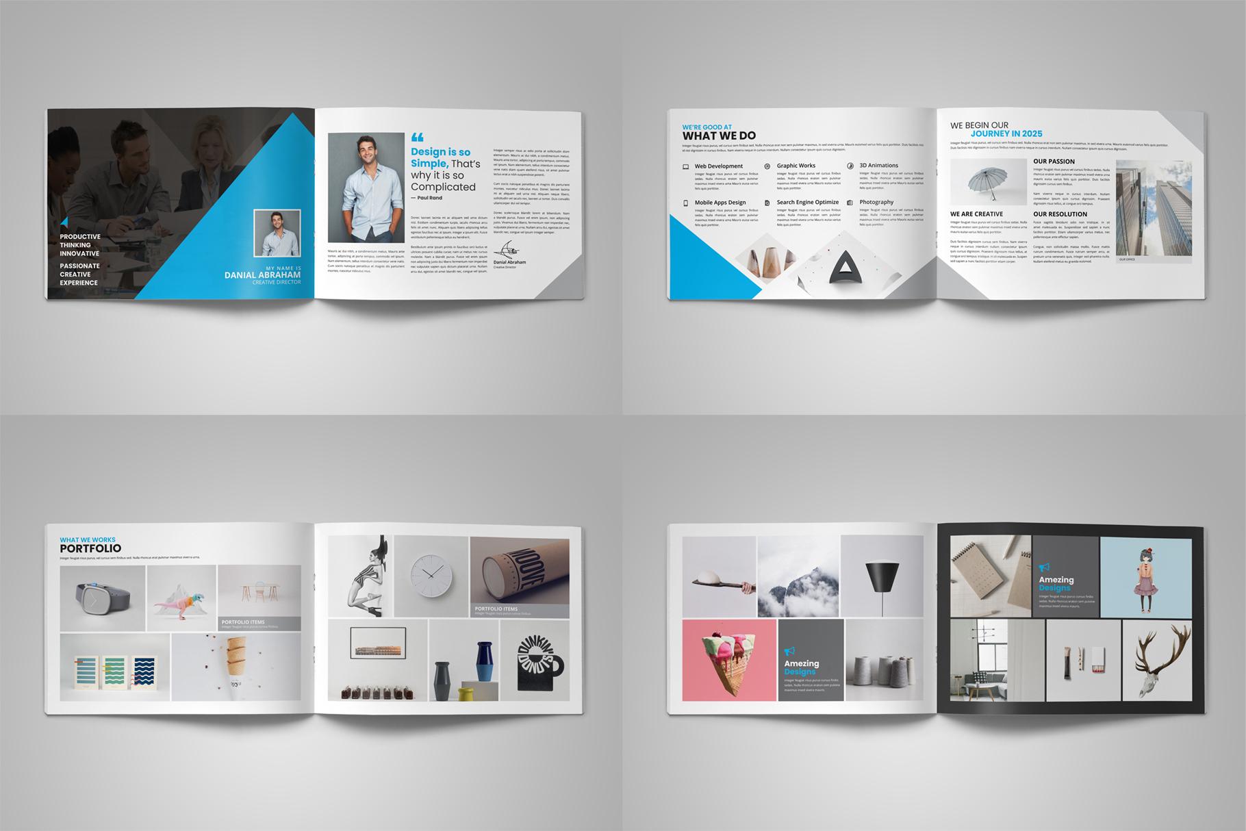Digital Agency Portfolio Brochure v2 example image 11
