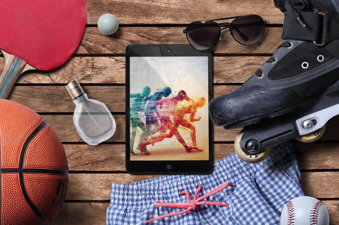 Sport Scene Generator example image 6