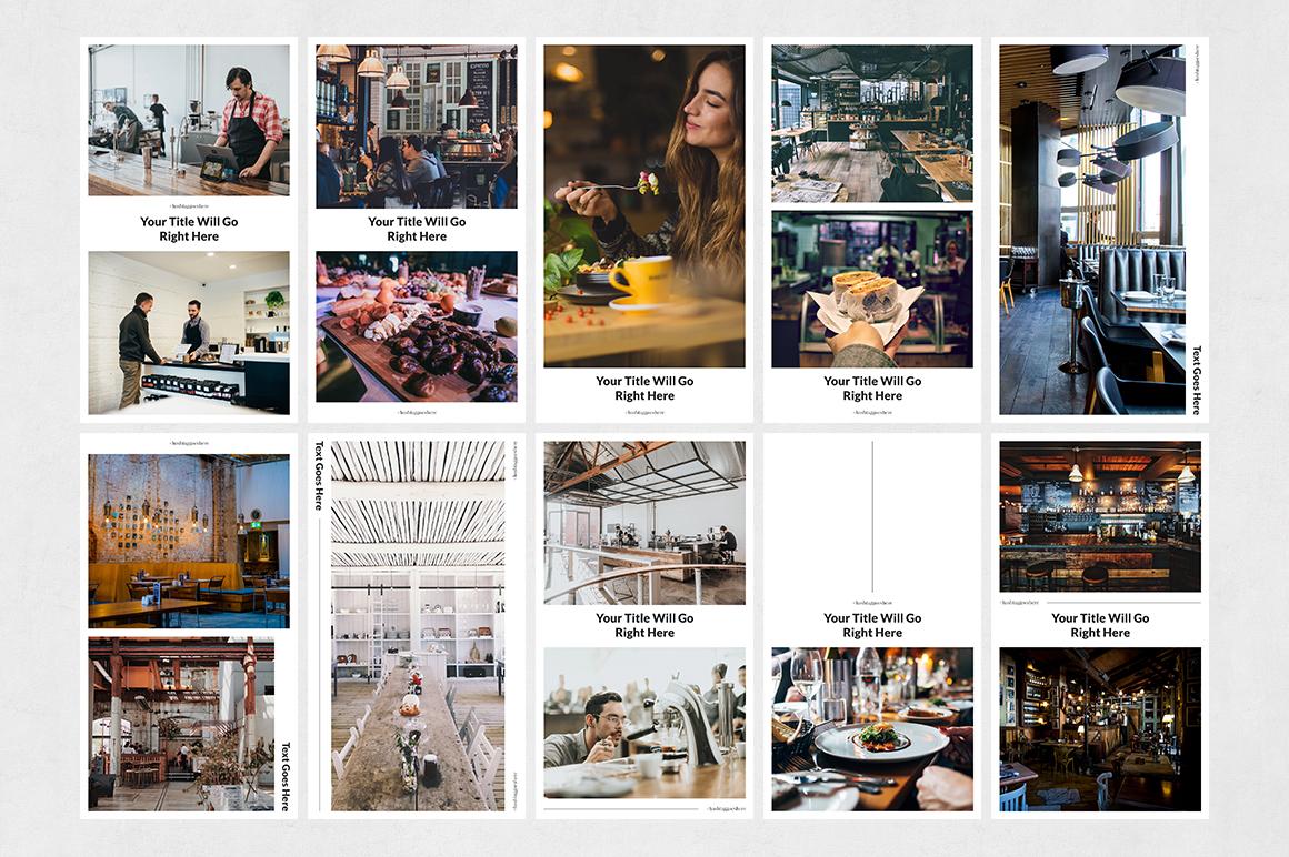 Restaurant Animated Instagram Stories example image 7