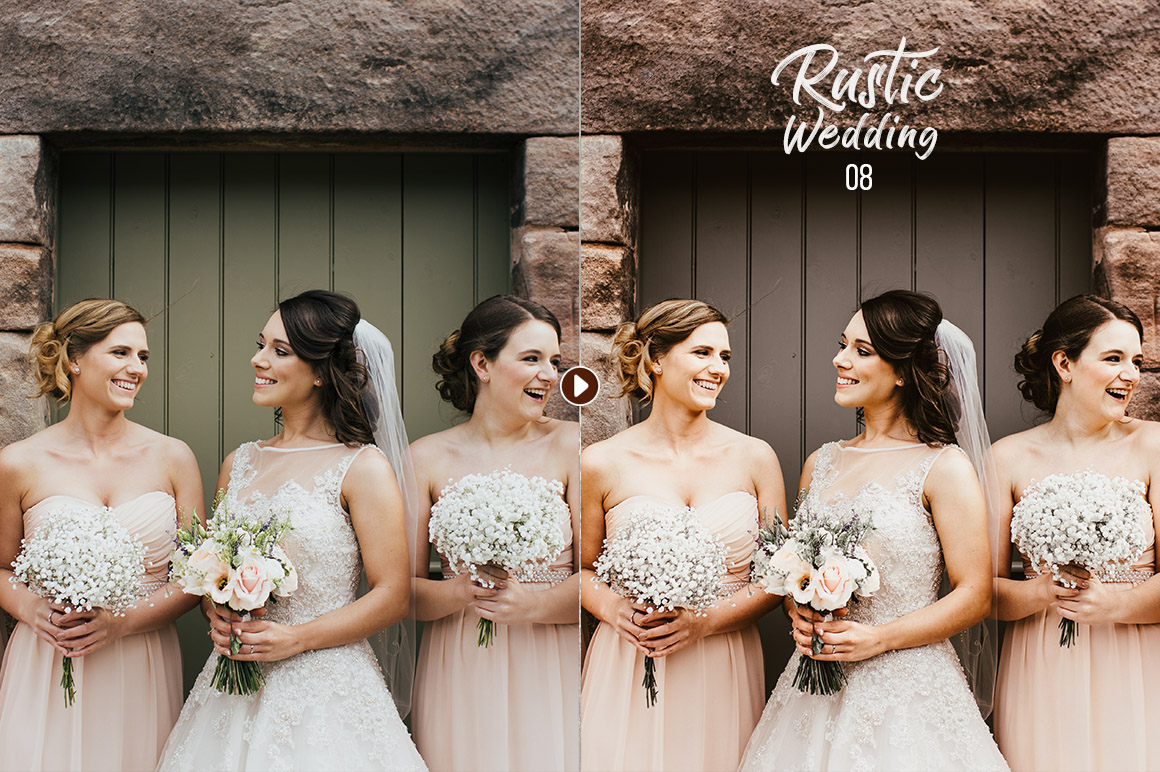 50 Rustic Wedding Presets For Lightroom Acr Example Image 7