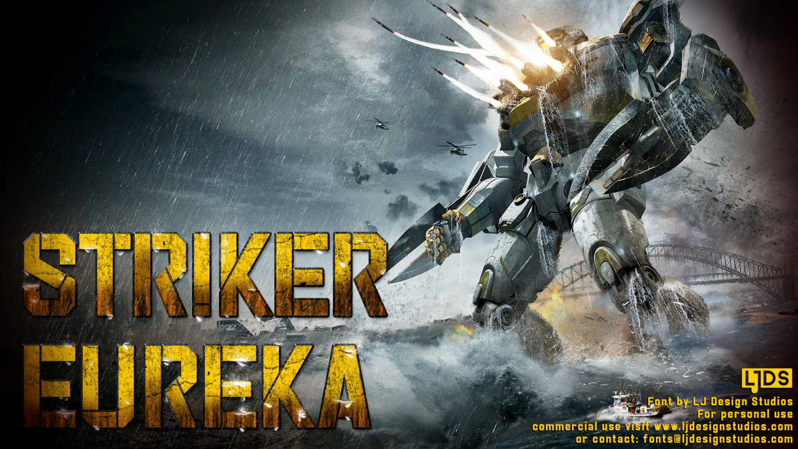 Striker Eureka example image 3