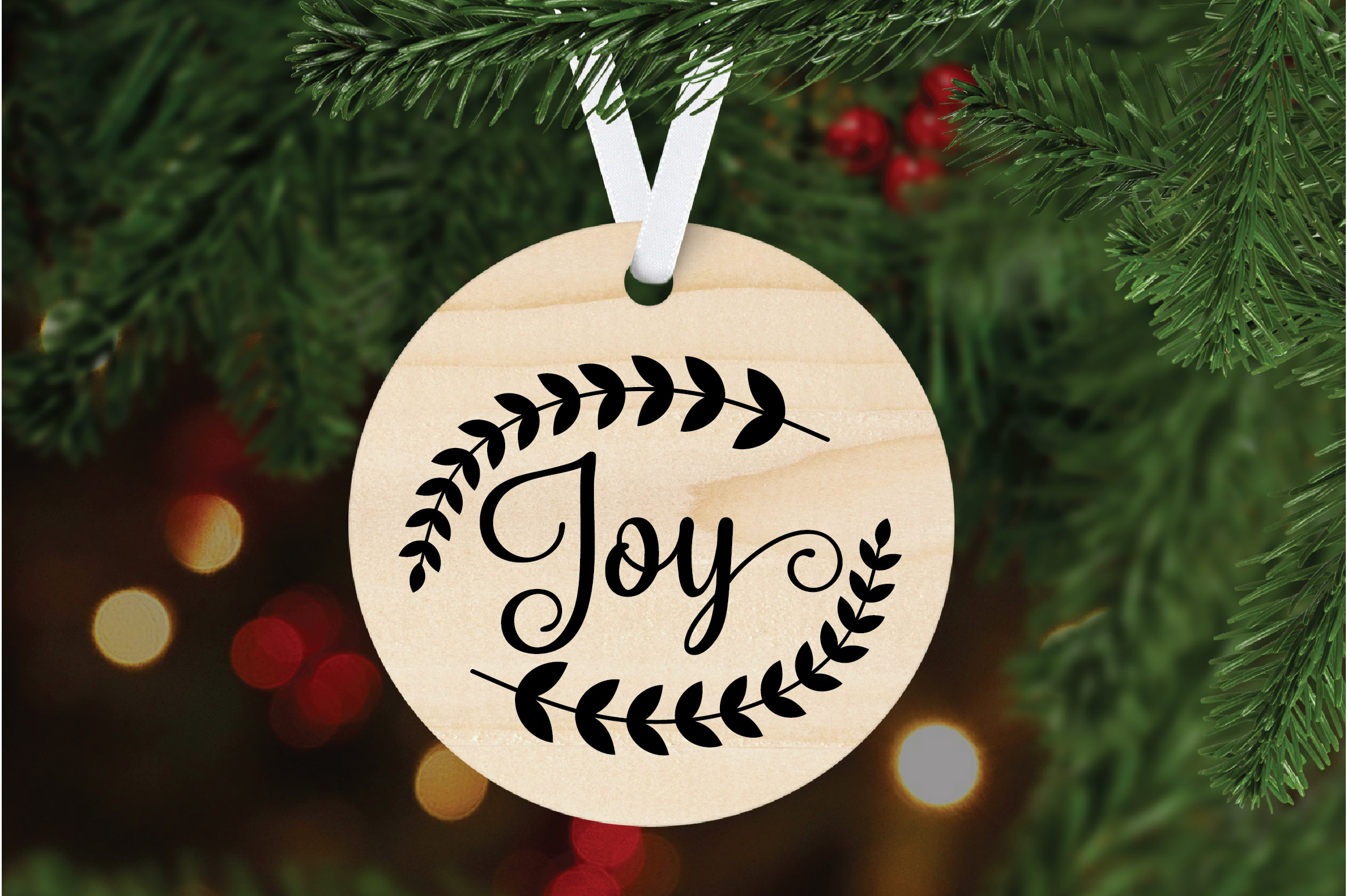 Christmas SVG Cut File - Joy SVG DXF PNG EPS JPG example image 6