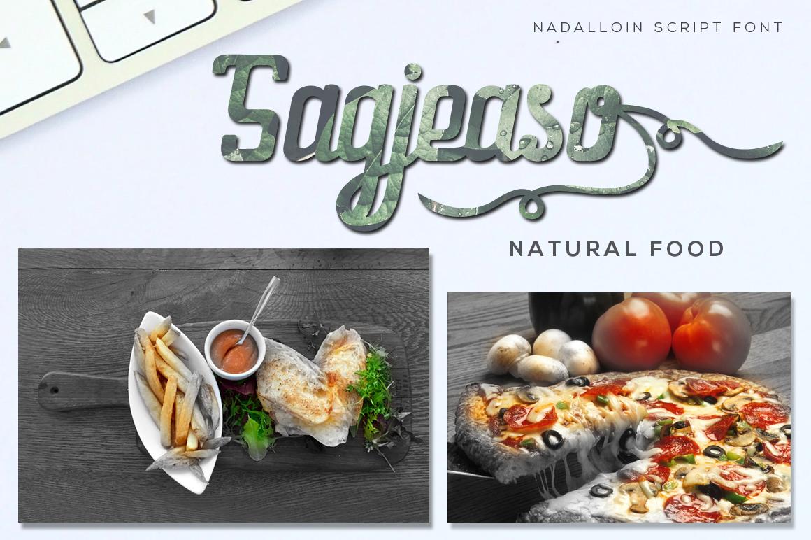 Nadalloin font example image 3