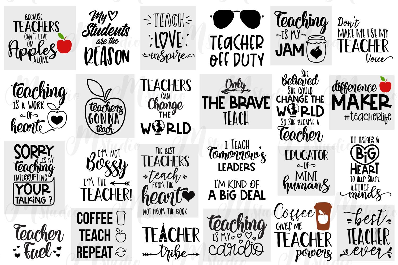 Teacher SVG Bundle. example image 2