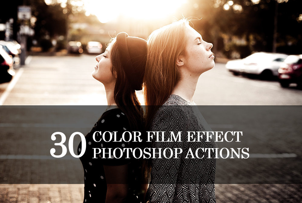 30 Summer Photoshop Actions Collection (Action for photoshop CS5,CS6,CC) example image 1