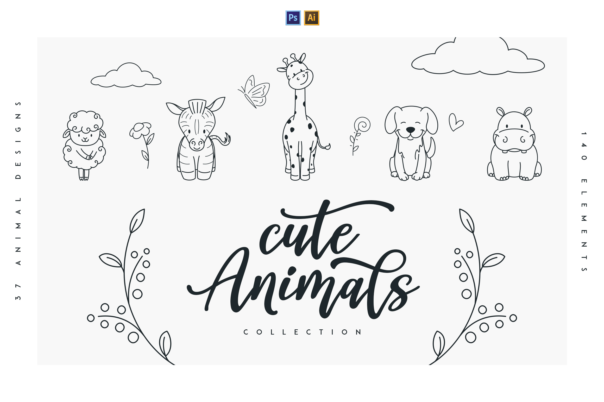 Cute Animals Collection example image 1
