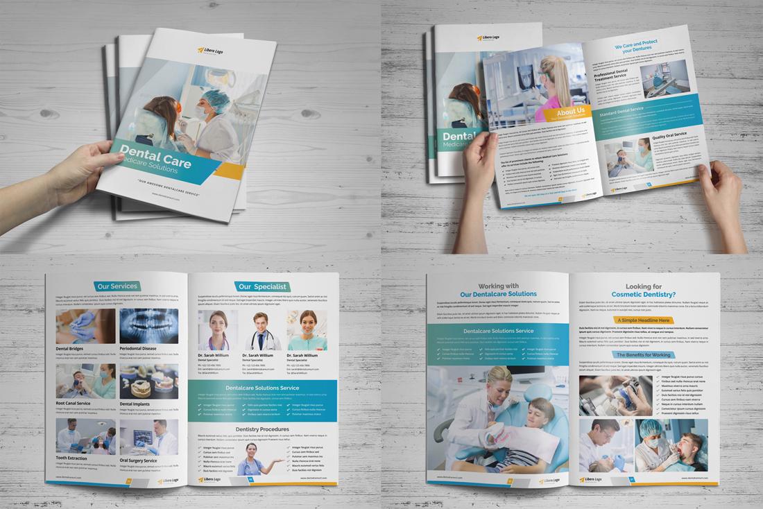 Medical HealthCare Brochure Bundle example image 15