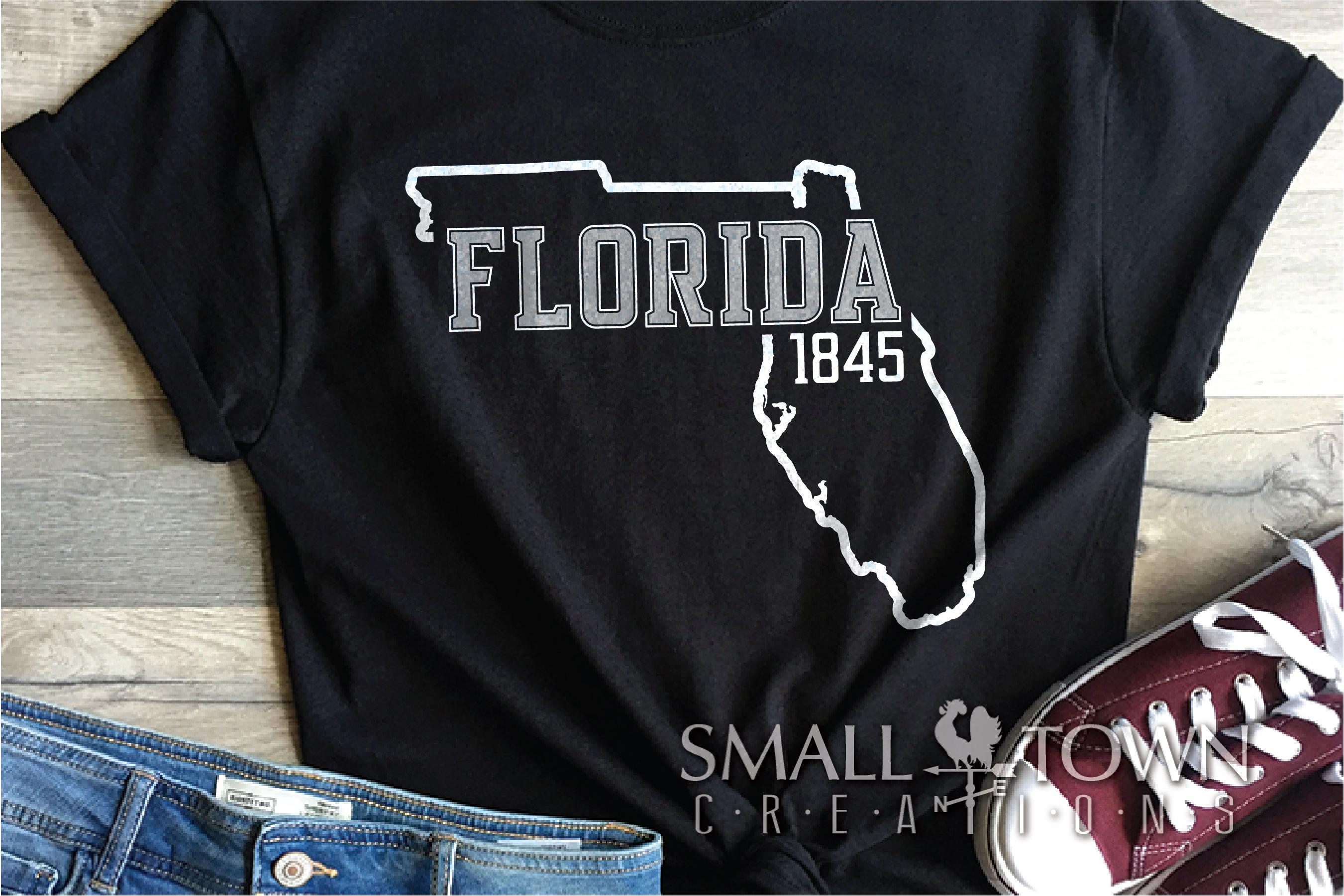 Florida, Sunshine State - slogan, logo, PRINT, CUT & DESIGN example image 8
