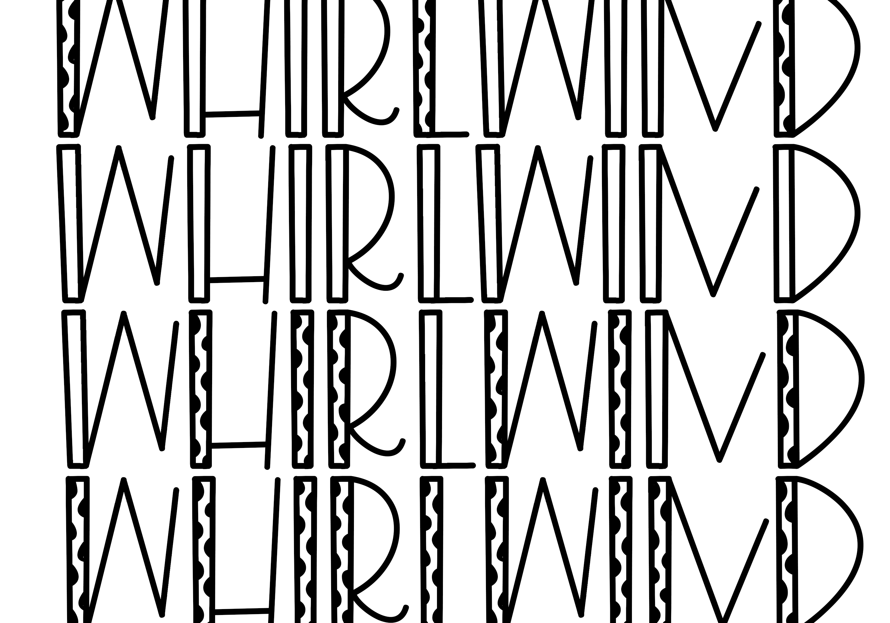 Whirlwind - A Fun Handwritten Font example image 4